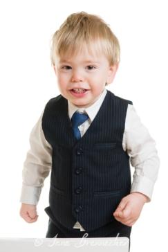 boy in waistcoat