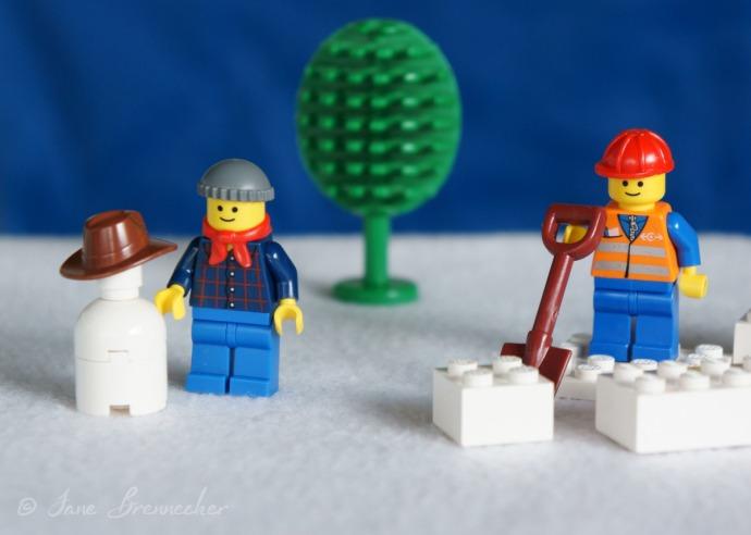 lego snow